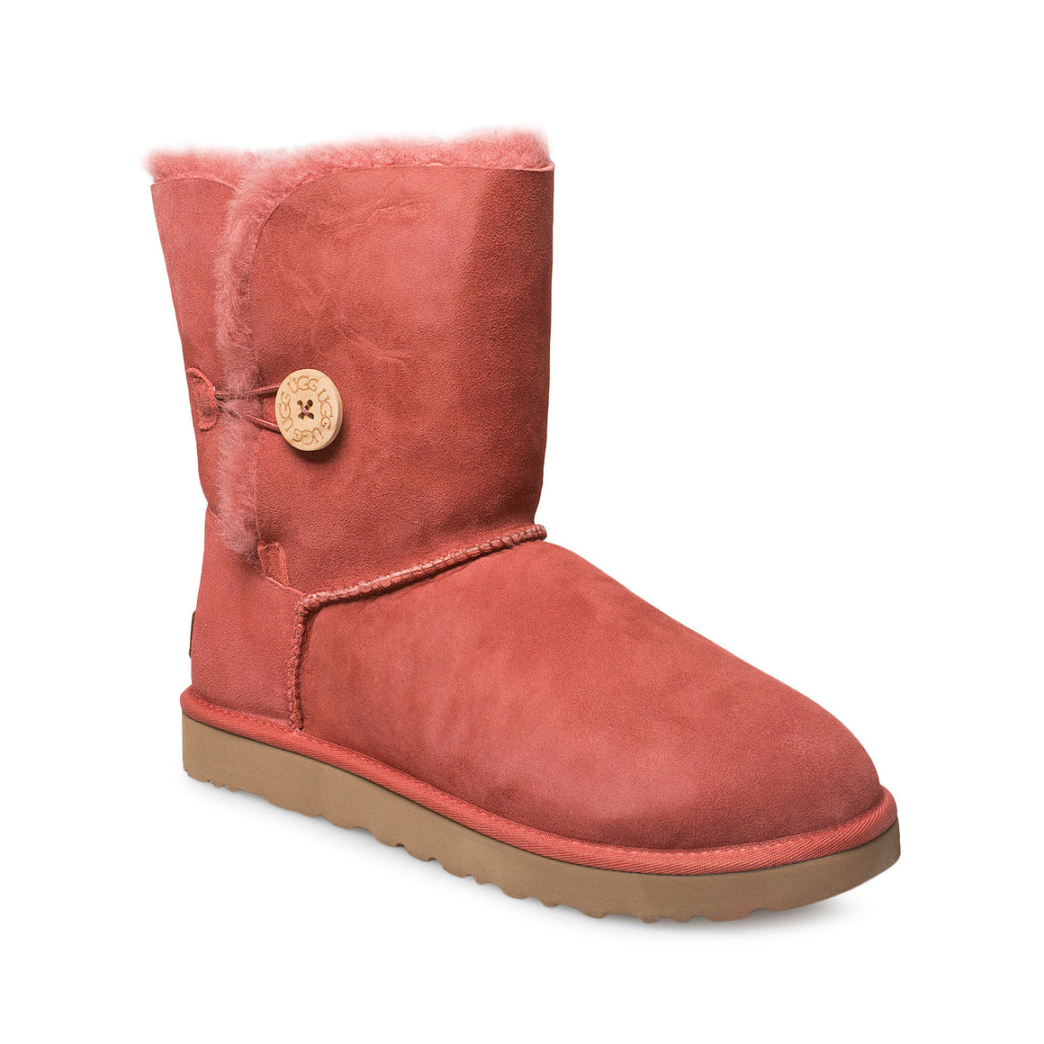 UGG Bailey Button II Terracotta Boots - Women's