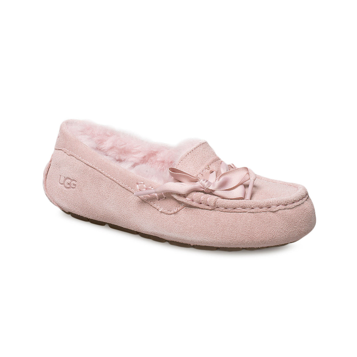 UGG Ansley Lace Pink Crystal Slippers - Women's