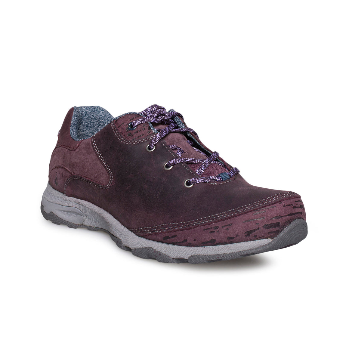 Ahnu Sugar Venture Lace Dark Plum Shoes