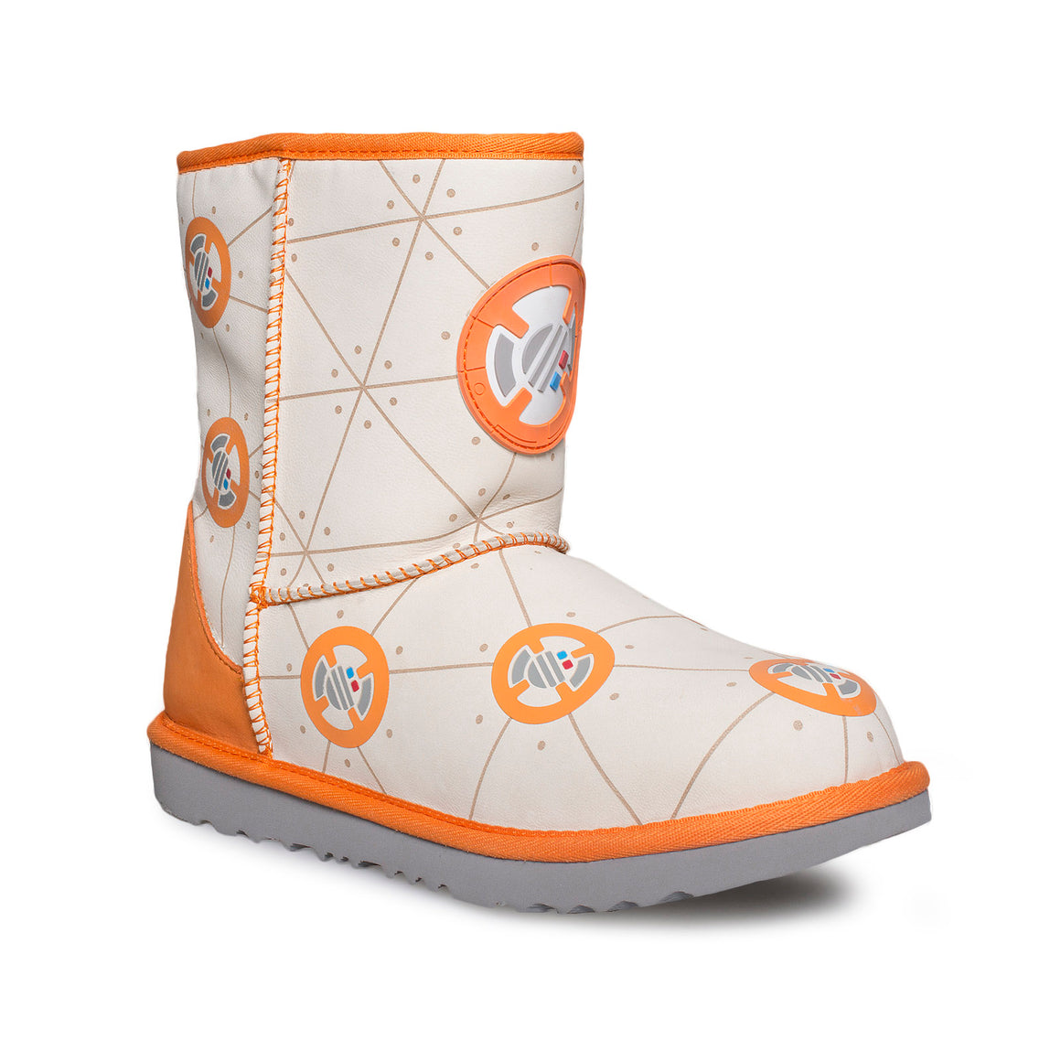 UGG Star Wars Classic II BB-8 Droid Orange Boots