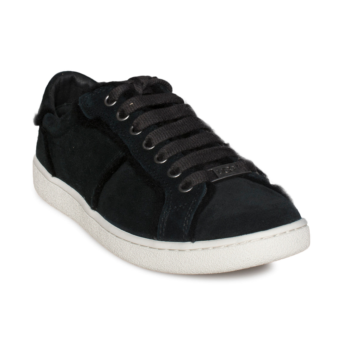 UGG Milo Spill Seam Black Sneakers - Women's