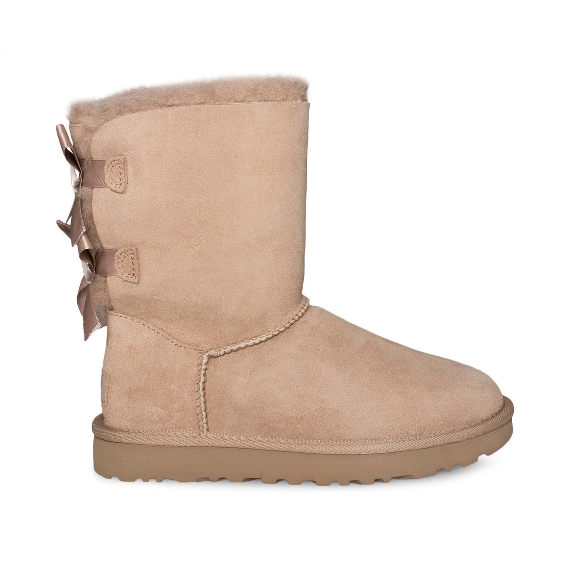 UGG Bailey Bow II Fawn Boots - Women's