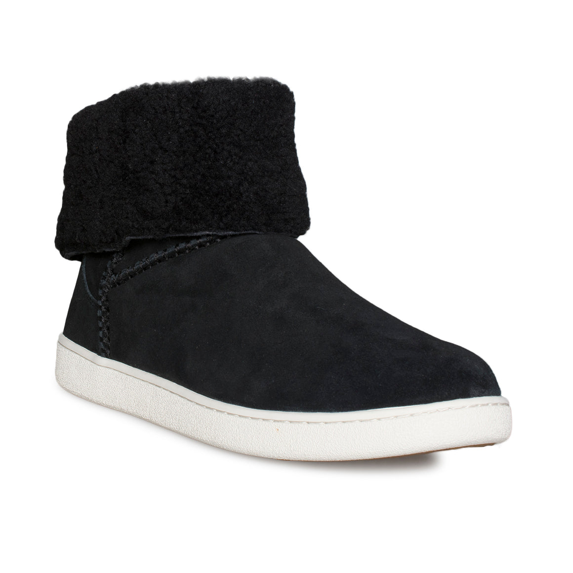 UGG Mika Classic Black Sneakers - Women's