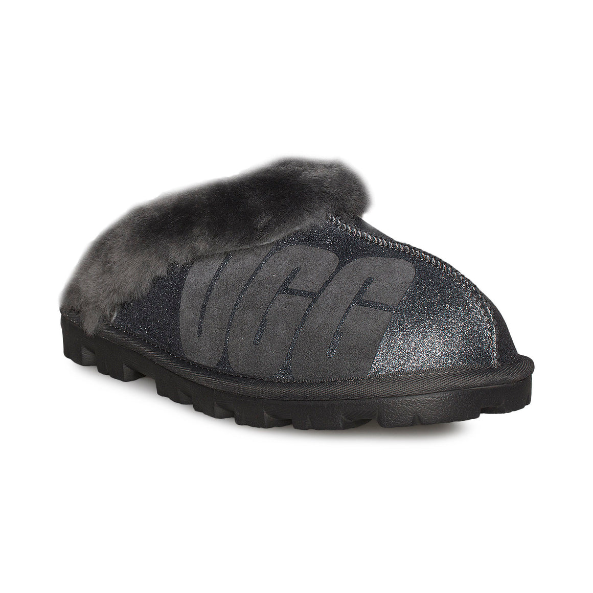 UGG Coquette Sparkle Charcoal Slippers - Women's
