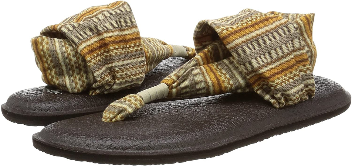 Sanuk Women's Yoga Sling 2 Natural Bayridge Blanket Sandals - Women's