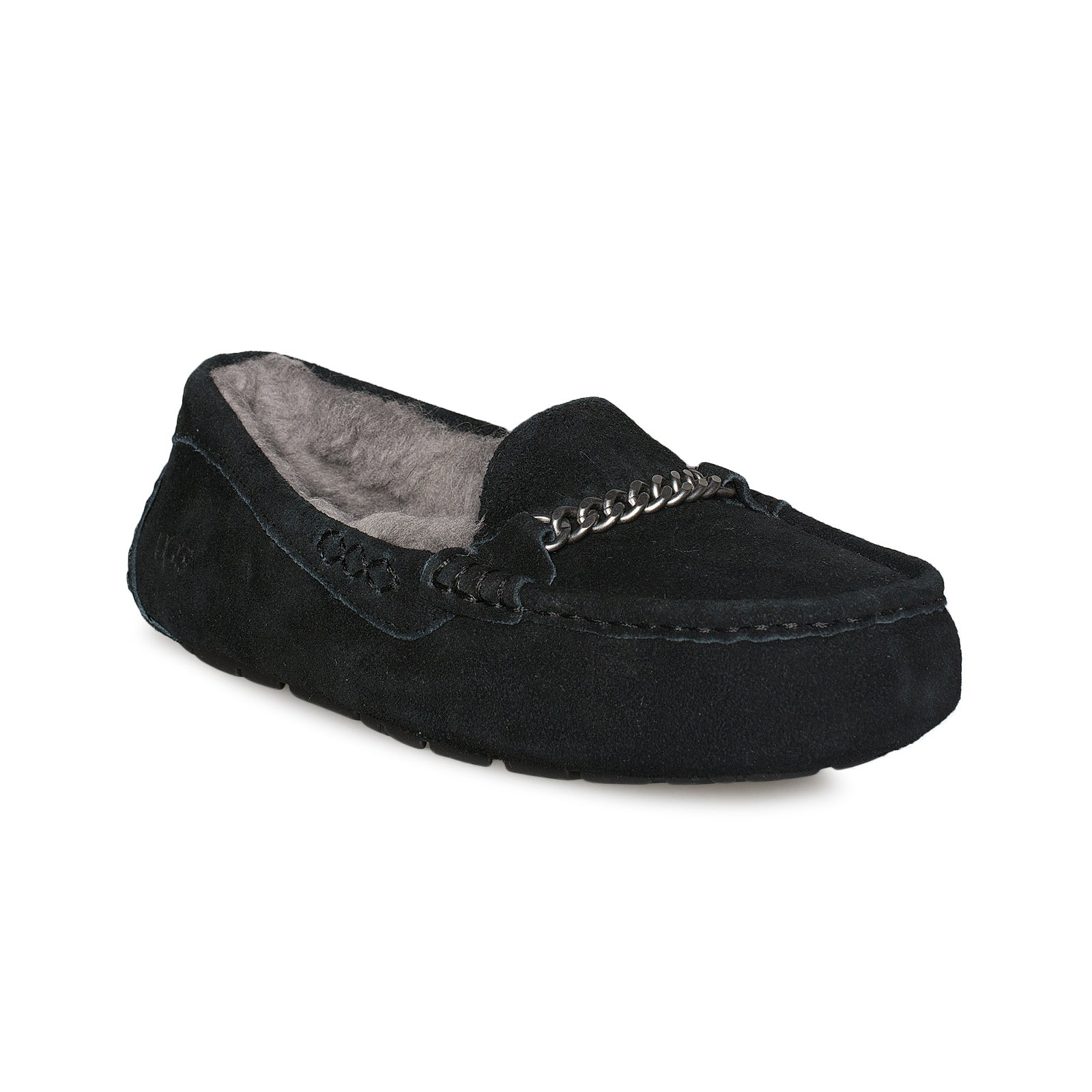 37c8226aebb UGG Ansley Charms Black Slippers - Women s - MyCozyBoots