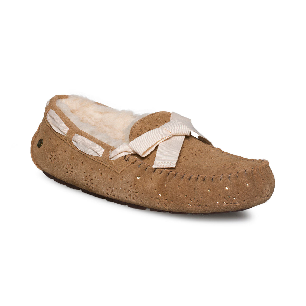 UGG Dakota Sunshine Perf Chestnut Slippers - Women's