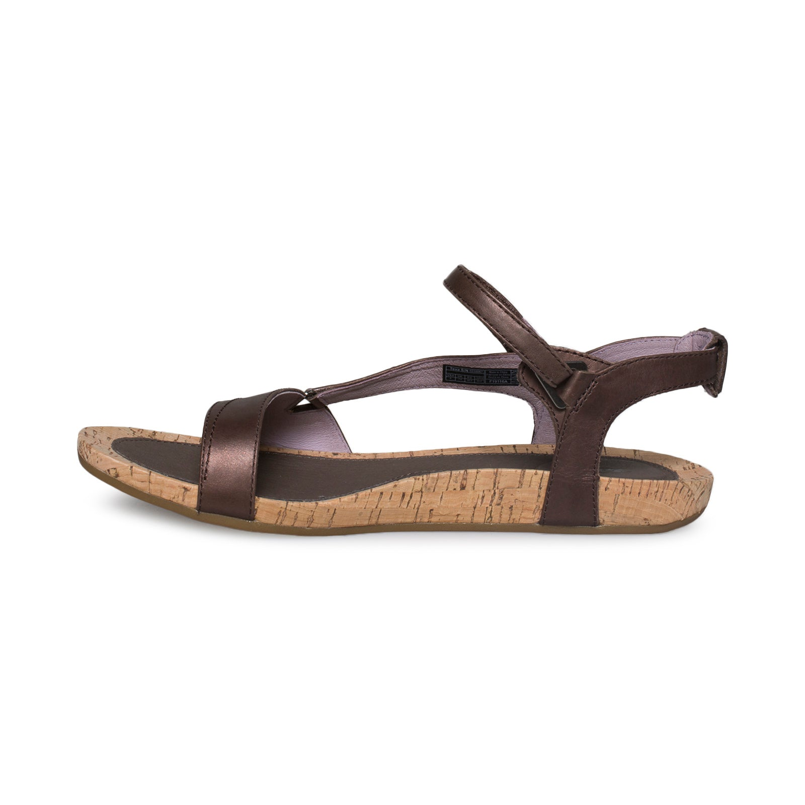 08658ffbe2d5 Teva Capri Universal Pearlized Chocolate Sandals - Women s - MyCozyBoots
