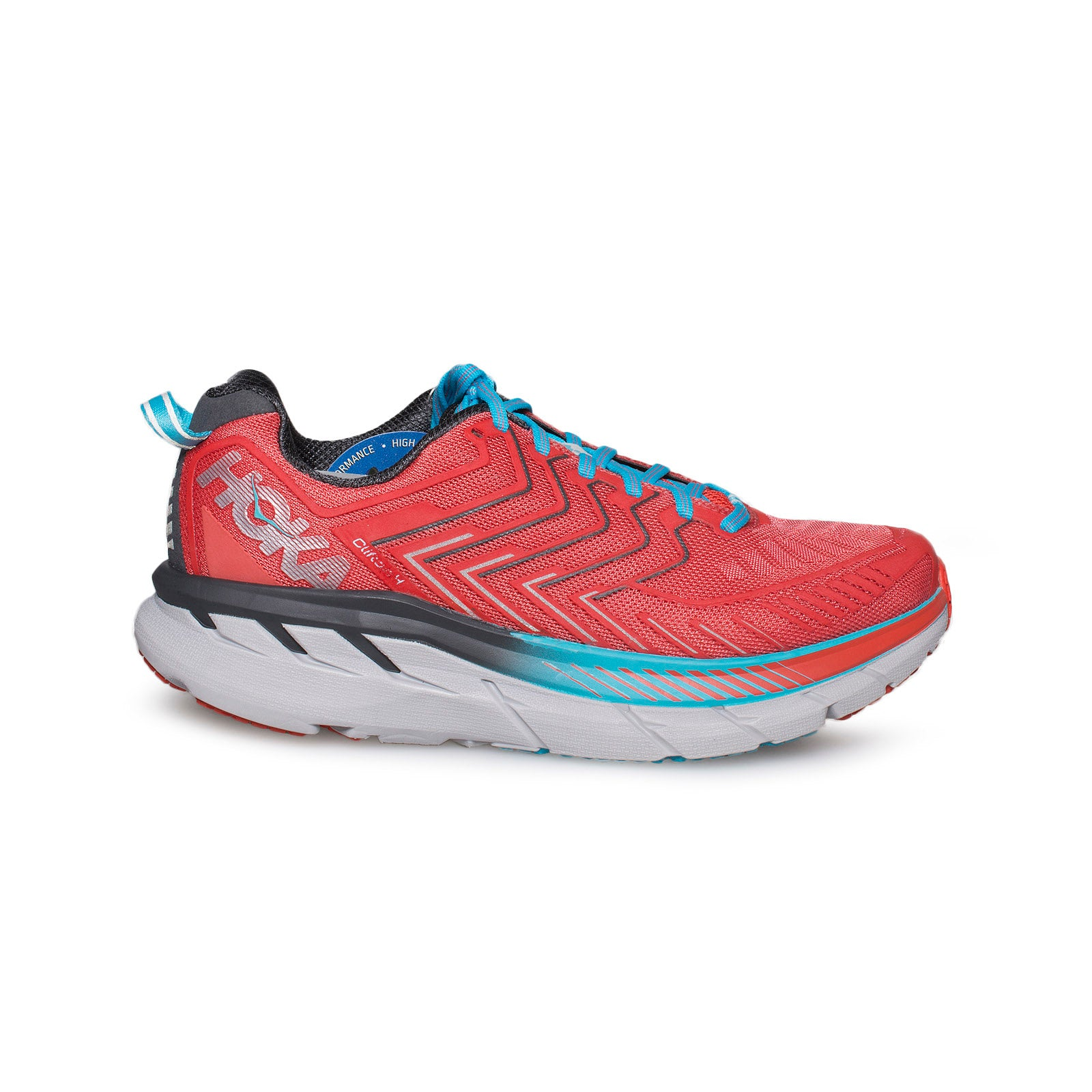 new style 56ac5 aee55 Hoka Clifton 4 Dubarry Grenadine Running Shoes - Women's