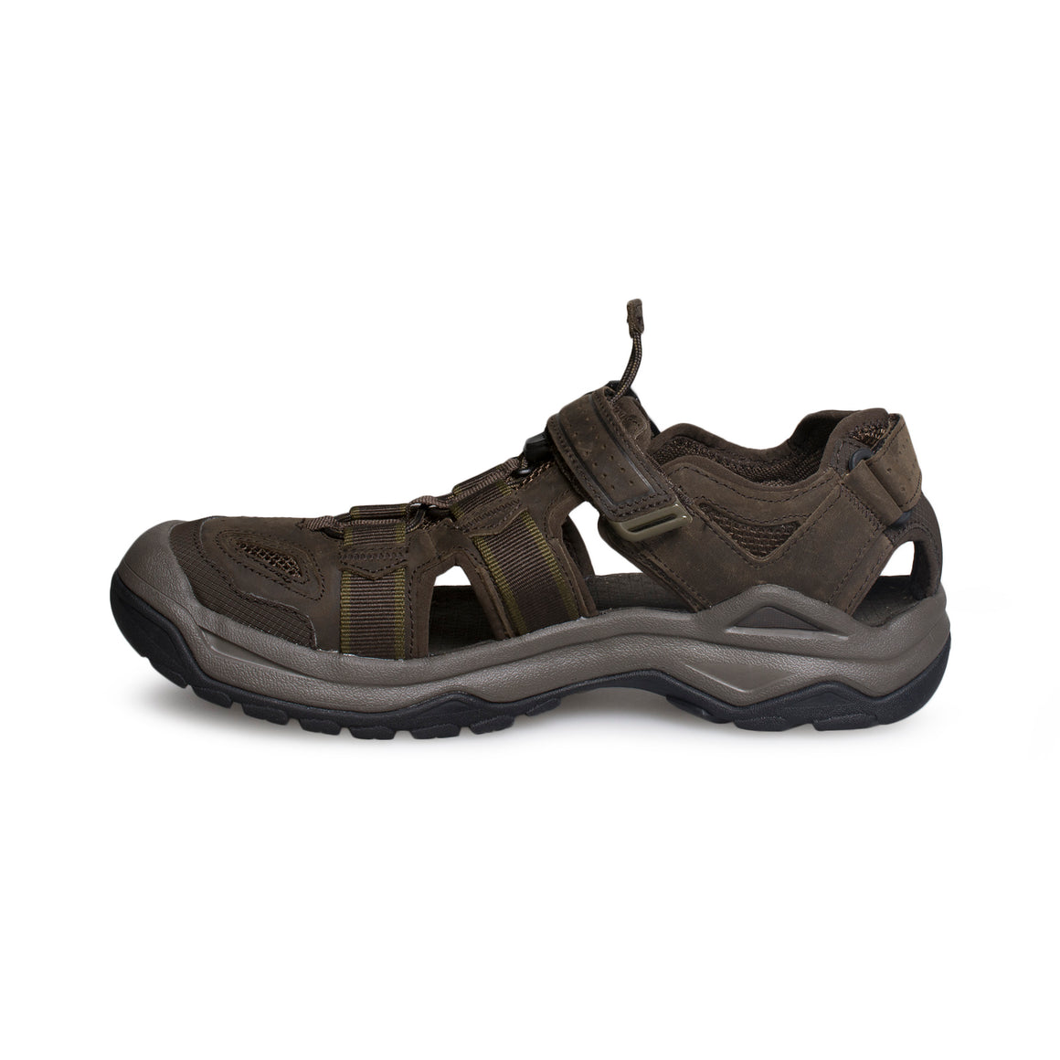 Teva Omnium 2 Leather Turkish Coffee Sandals - Men's