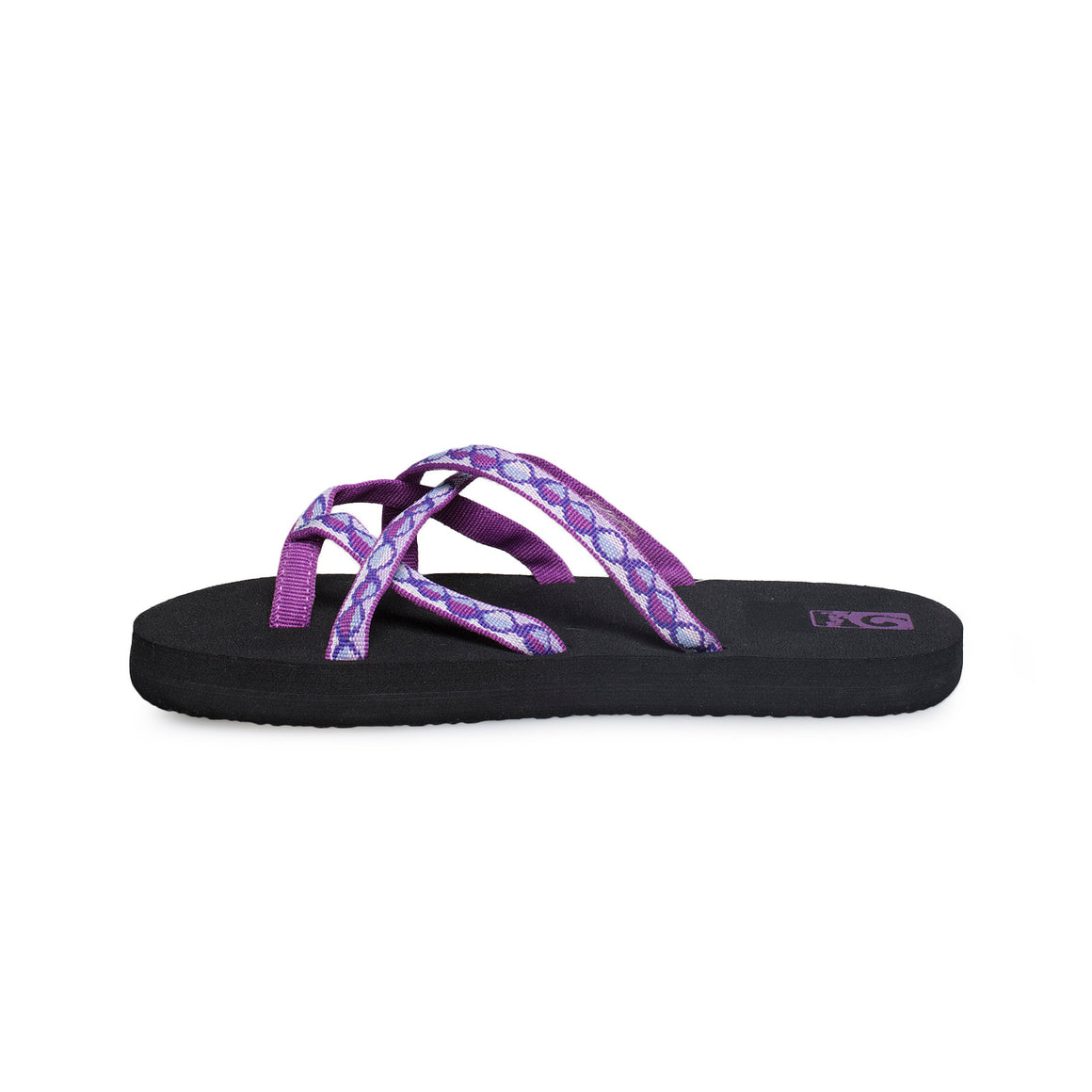 Teva Olowahu Junior Zaro Purple Flip Flops - Youth