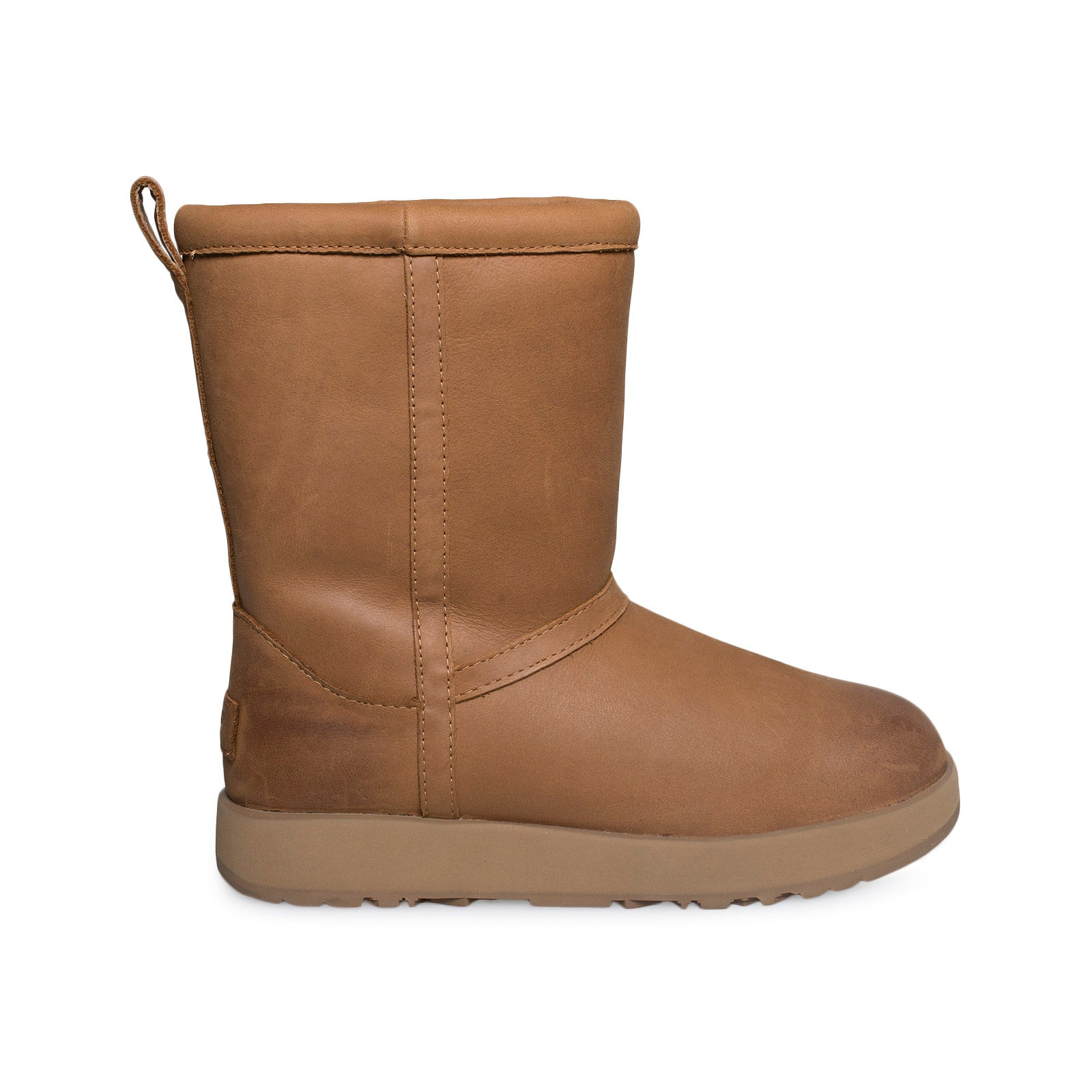 1f0ab8541aa UGG Classic Short Leather Waterproof Chestnut Boots - Women's