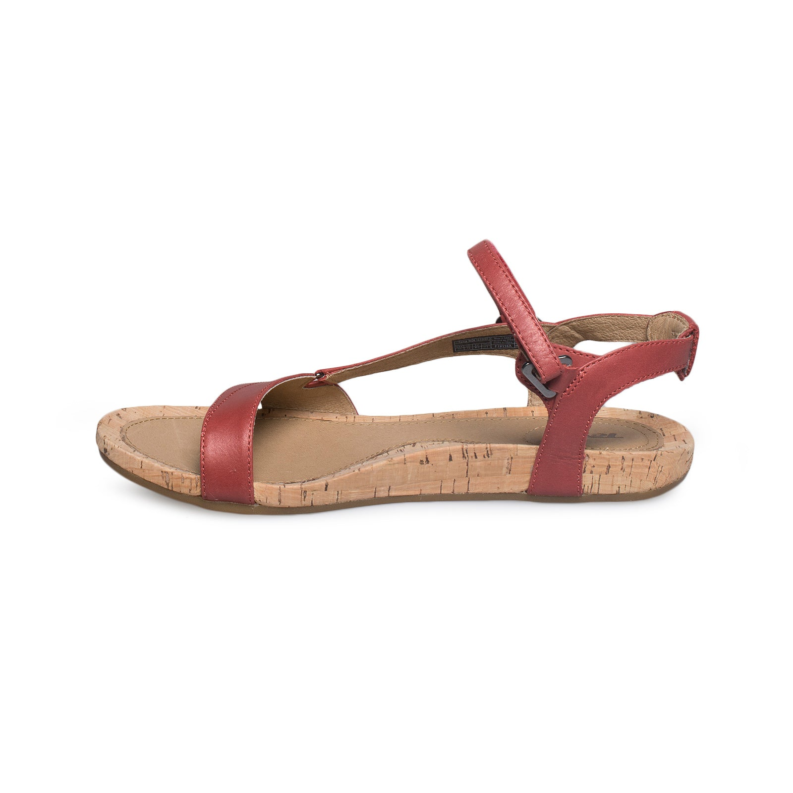 277d0903b4bc TEVA Capri Universal Pearlized Red Sandals - Women s - MyCozyBoots