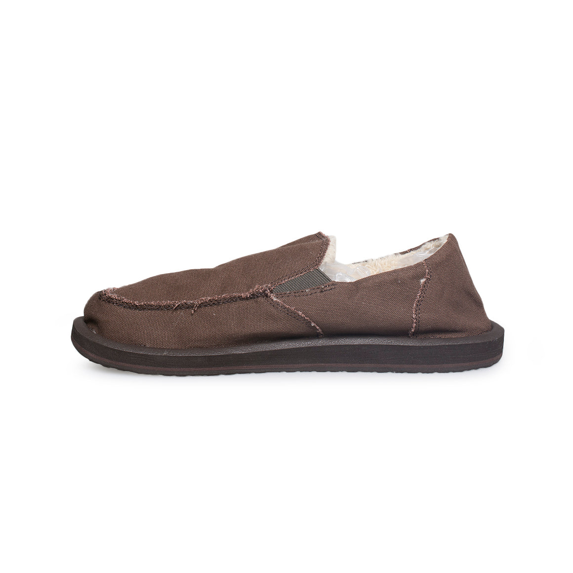 Sanuk Vagabond Chill Dark Brown Shoes - Men's