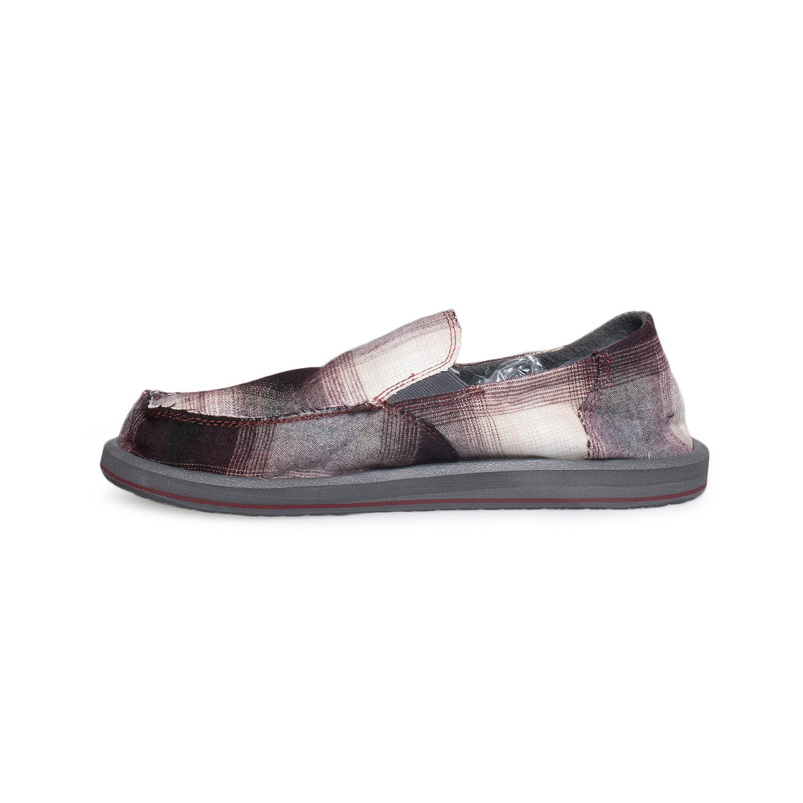 SANUK Coupe De Chille Burgundy Shoes - Men's