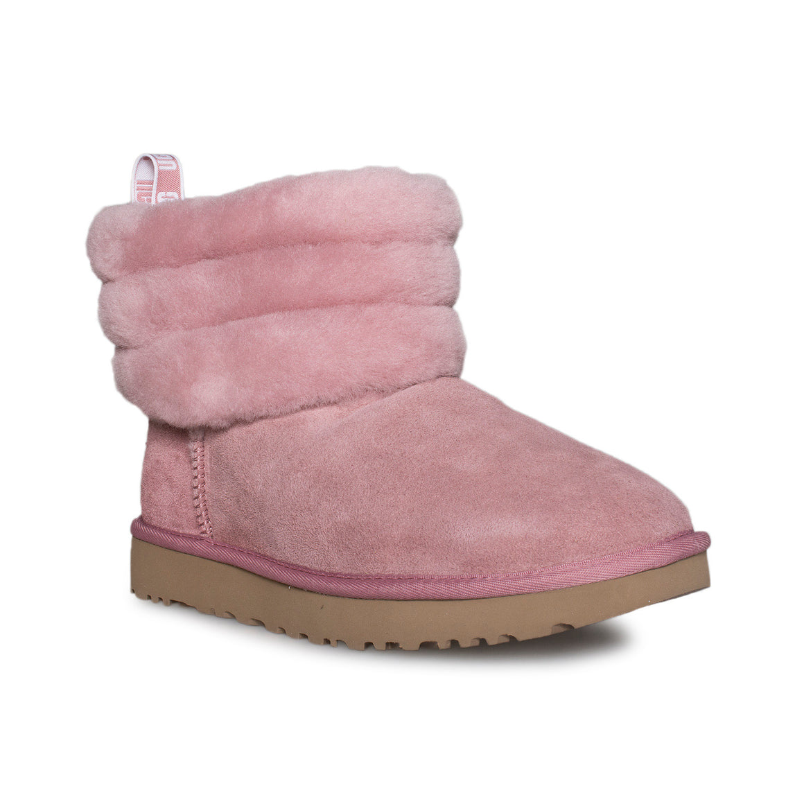 UGG Fluff Mini Quilted Pink Dawn Boots - Women's