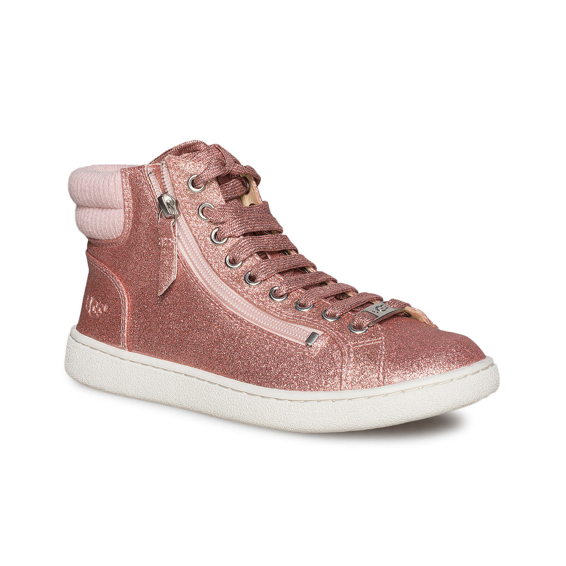 UGG Olive Glitter Pink Sneakers - Women's