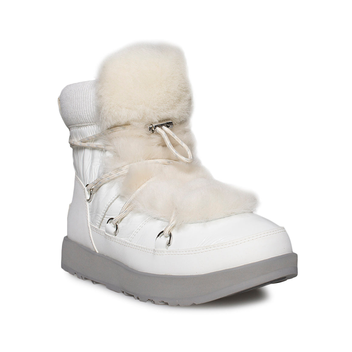 UGG Highland White Boots - Women's
