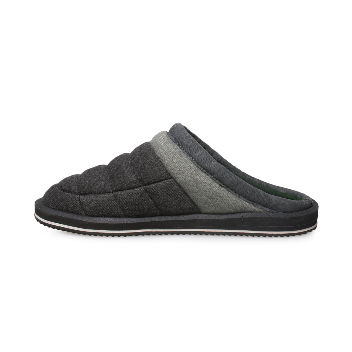 Sanuk Puff N Chill Low Black Loafers - Men's