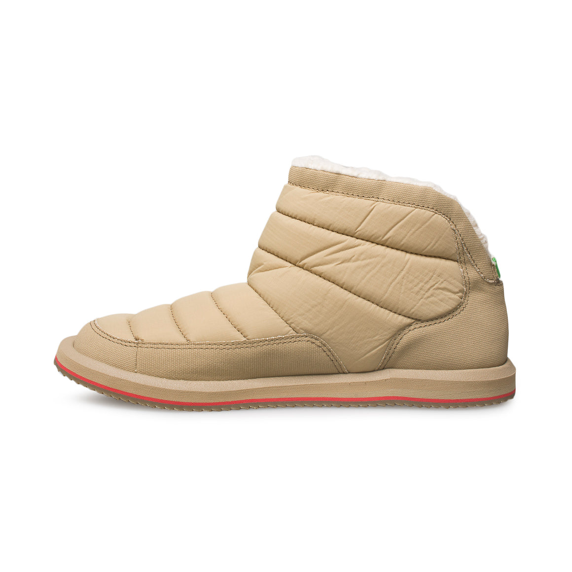 Sanuk Puff N Chill Tan Shoes - Women's