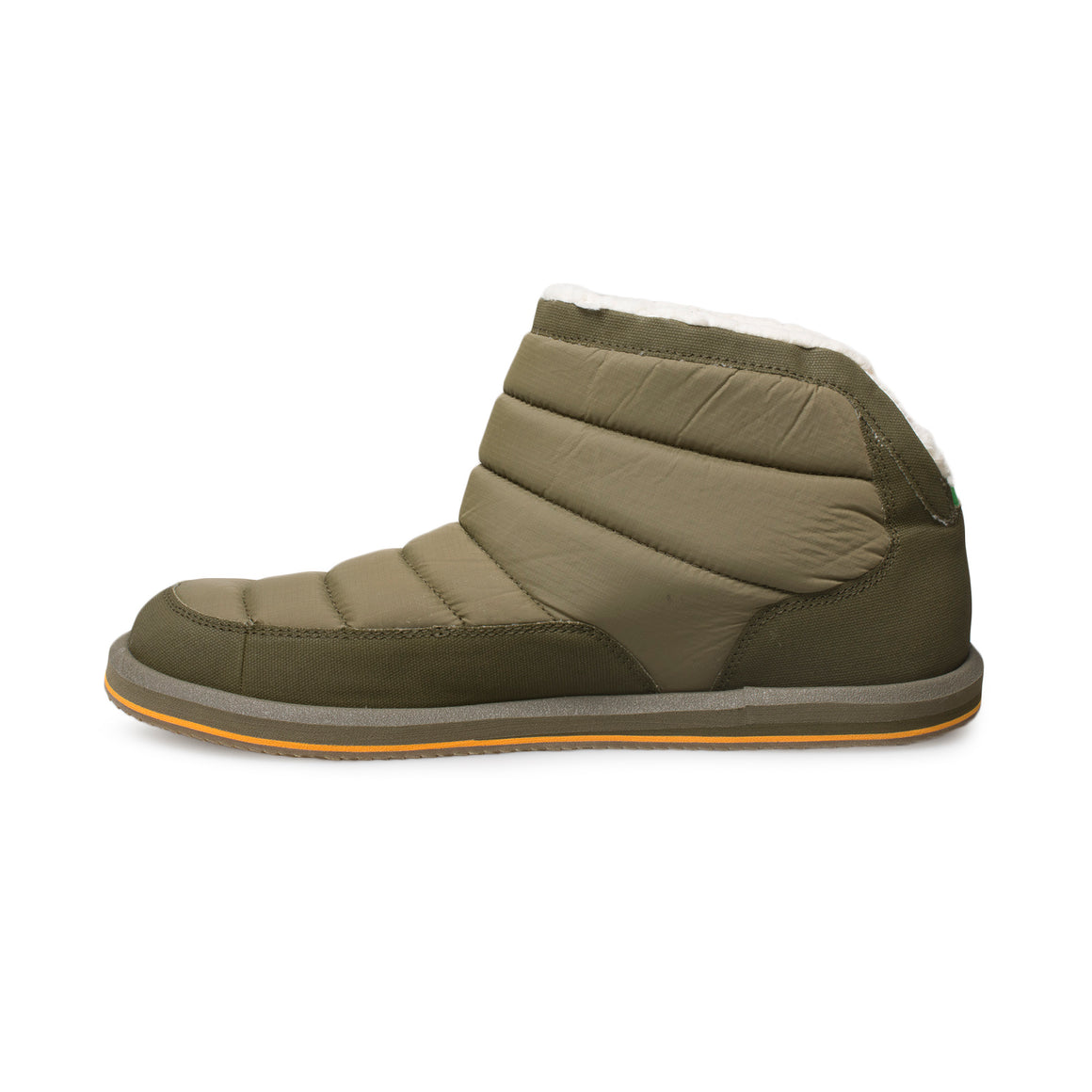 Sanuk Puff N Chill Dark Olive Shoes - Men's