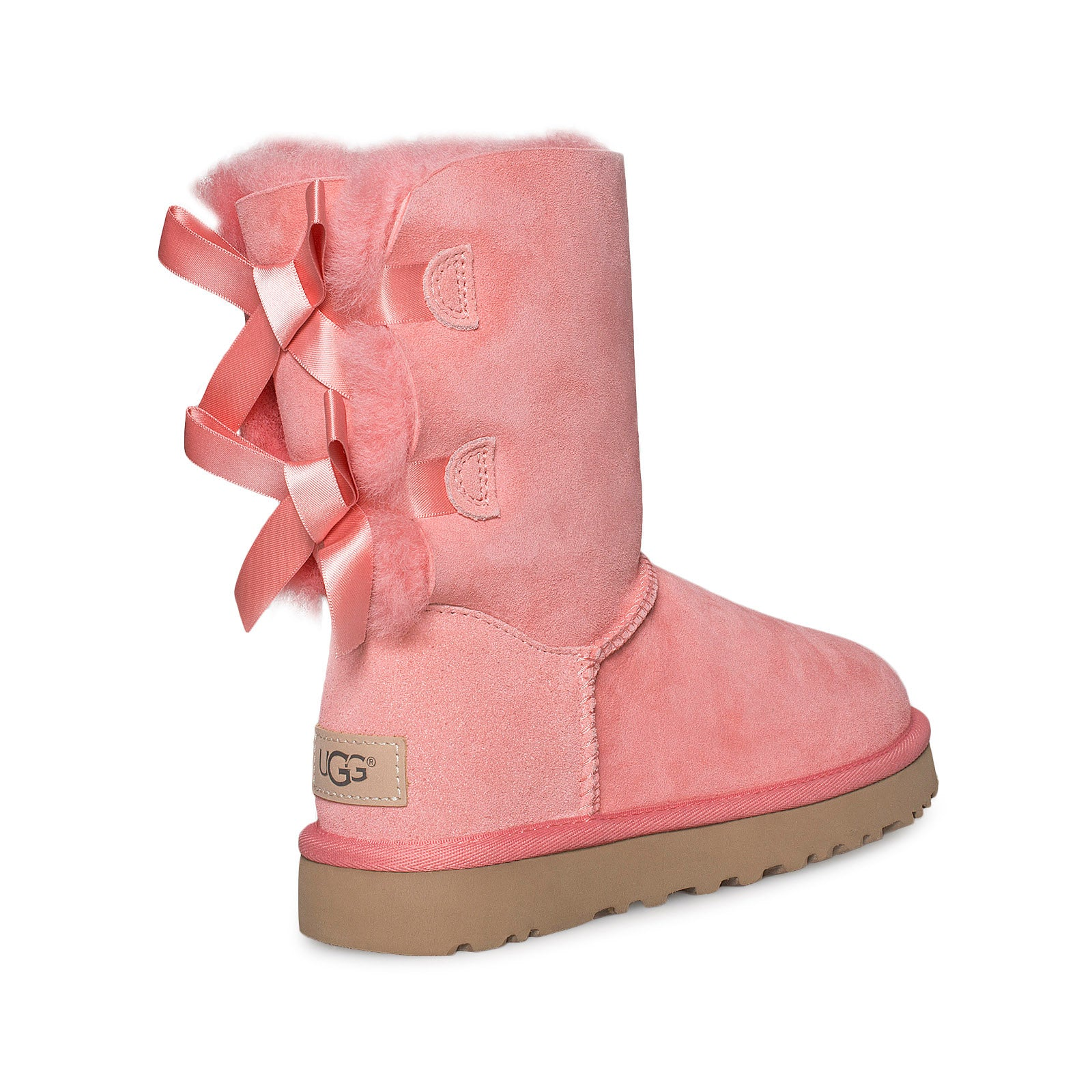 light pink bailey bow uggs