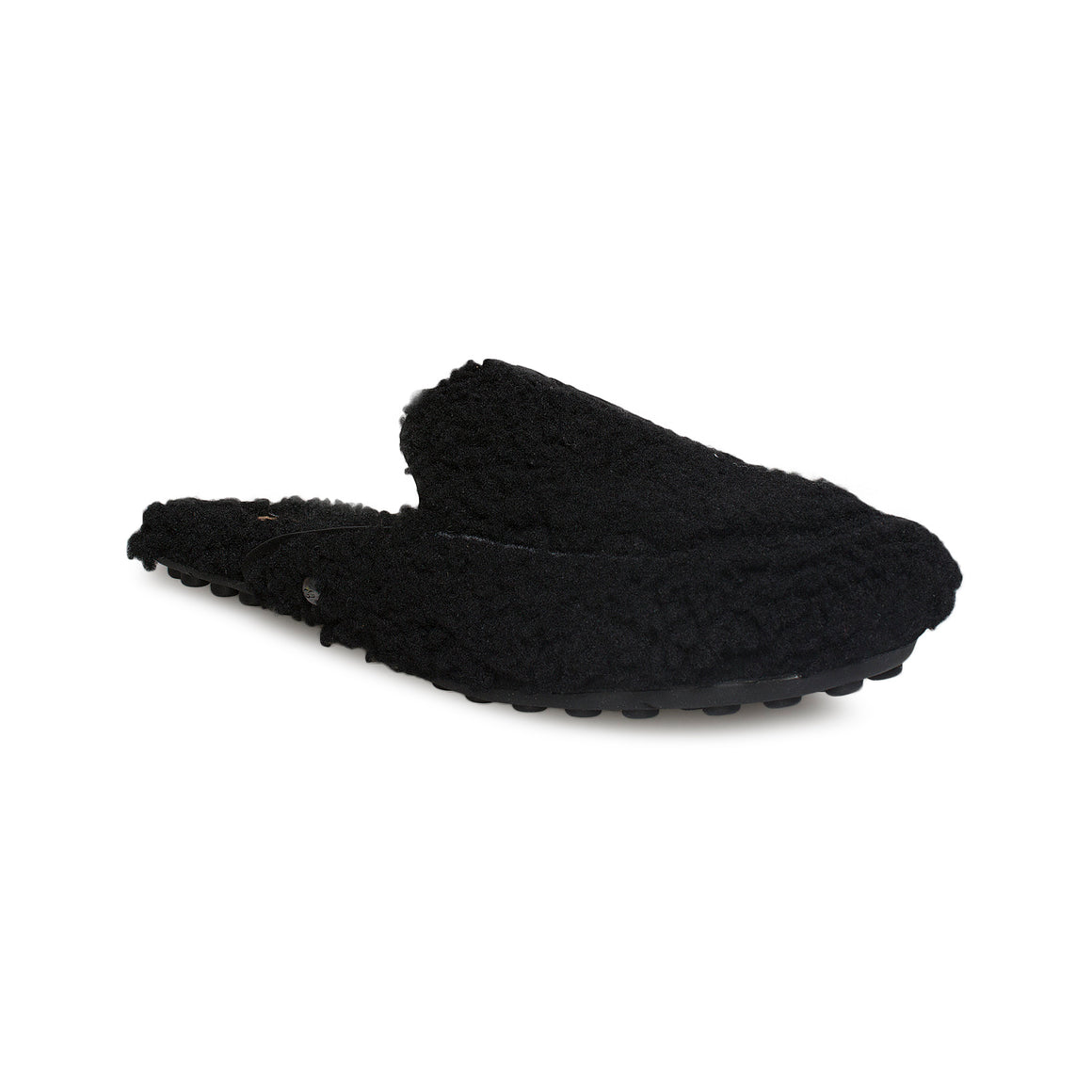 UGG Lane Fluff Black Loafer - Women's