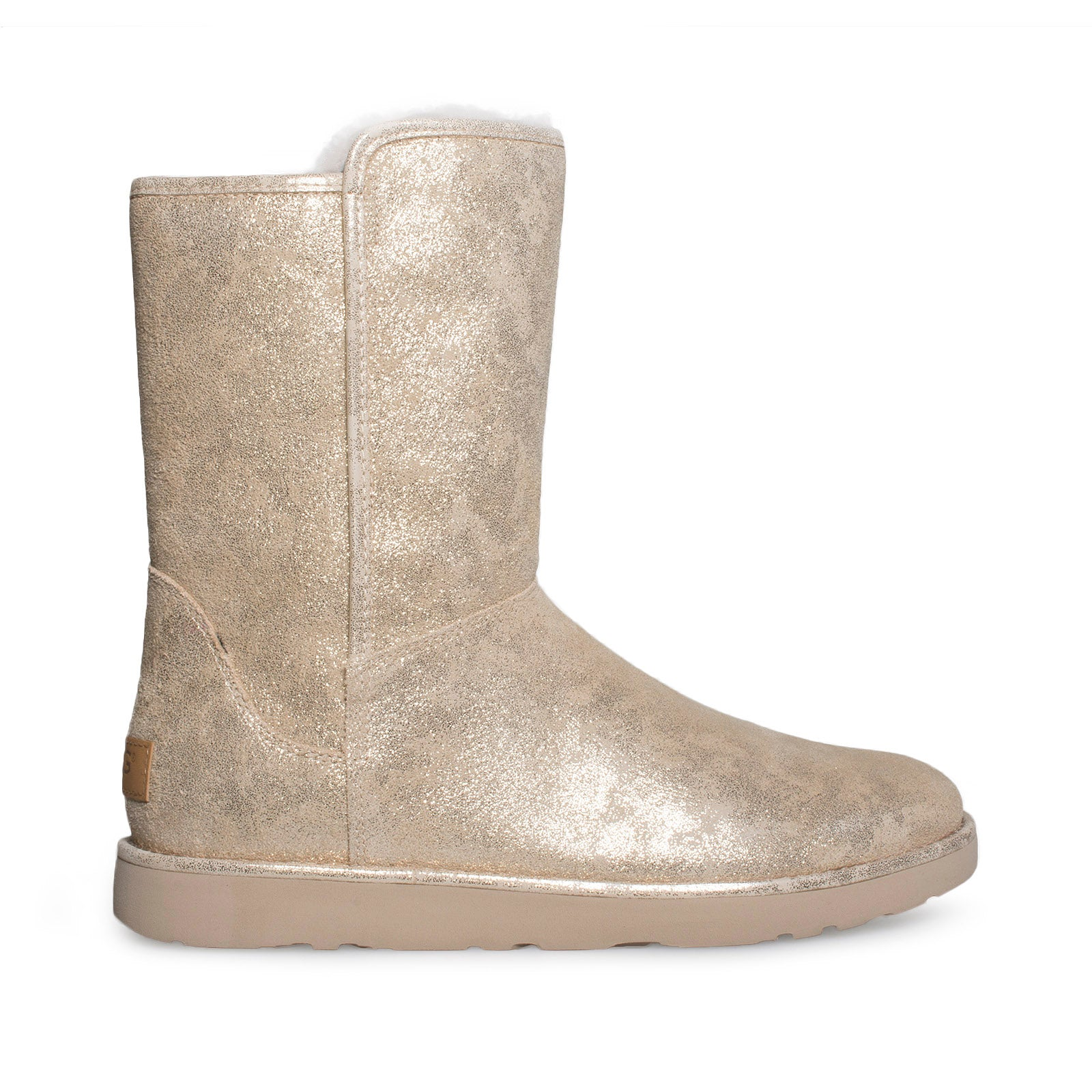 aec1fd870d9 UGG Abree Short II Stardust Metallic Gold Boots - Women's