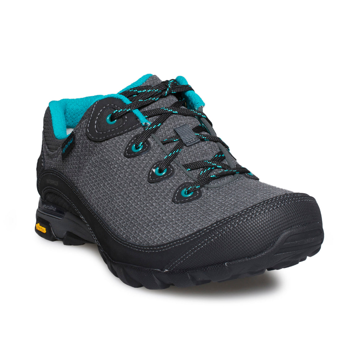 AHNU Sugarpine II Waterproof Black Sneakers - Women's