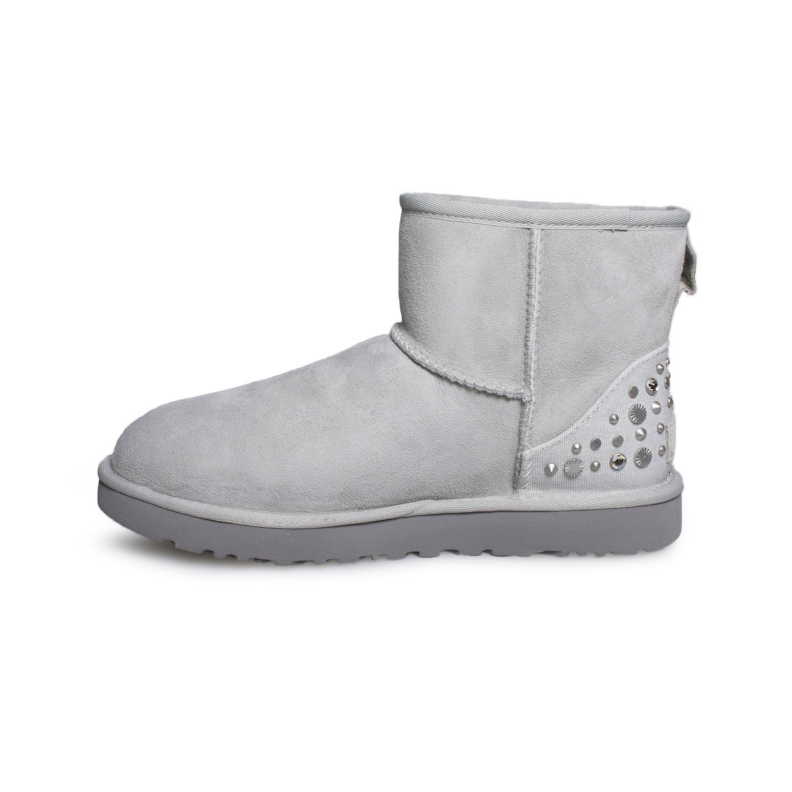 Ugg Studded Violet Bling Mycozyboots Classic Mini Grey Boots Women's gqrgR