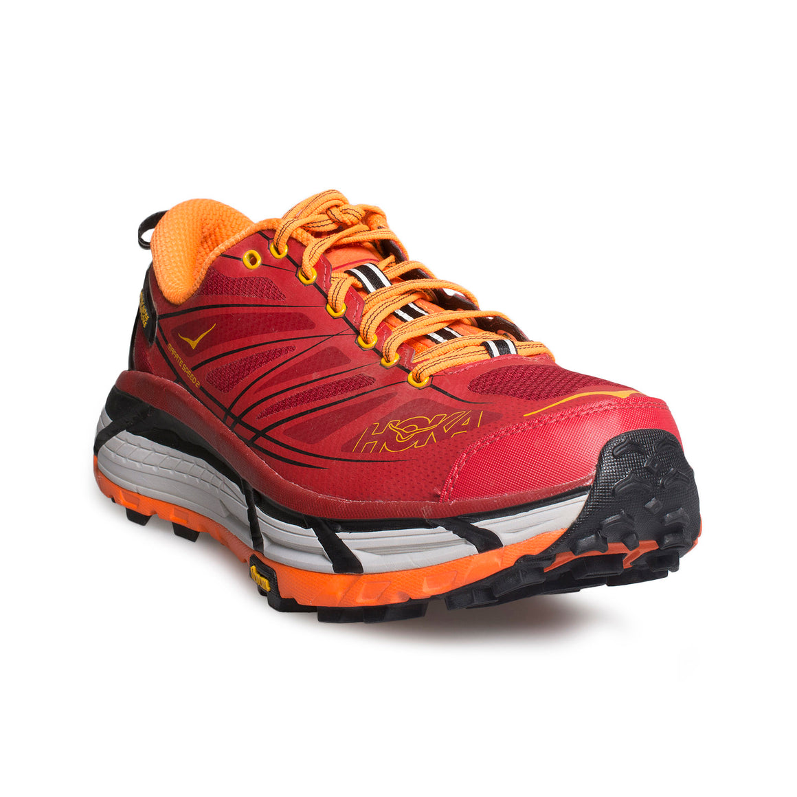 HOKA Mafate Speed 2 True Red / Chili Pepper Running Shoes - Men's