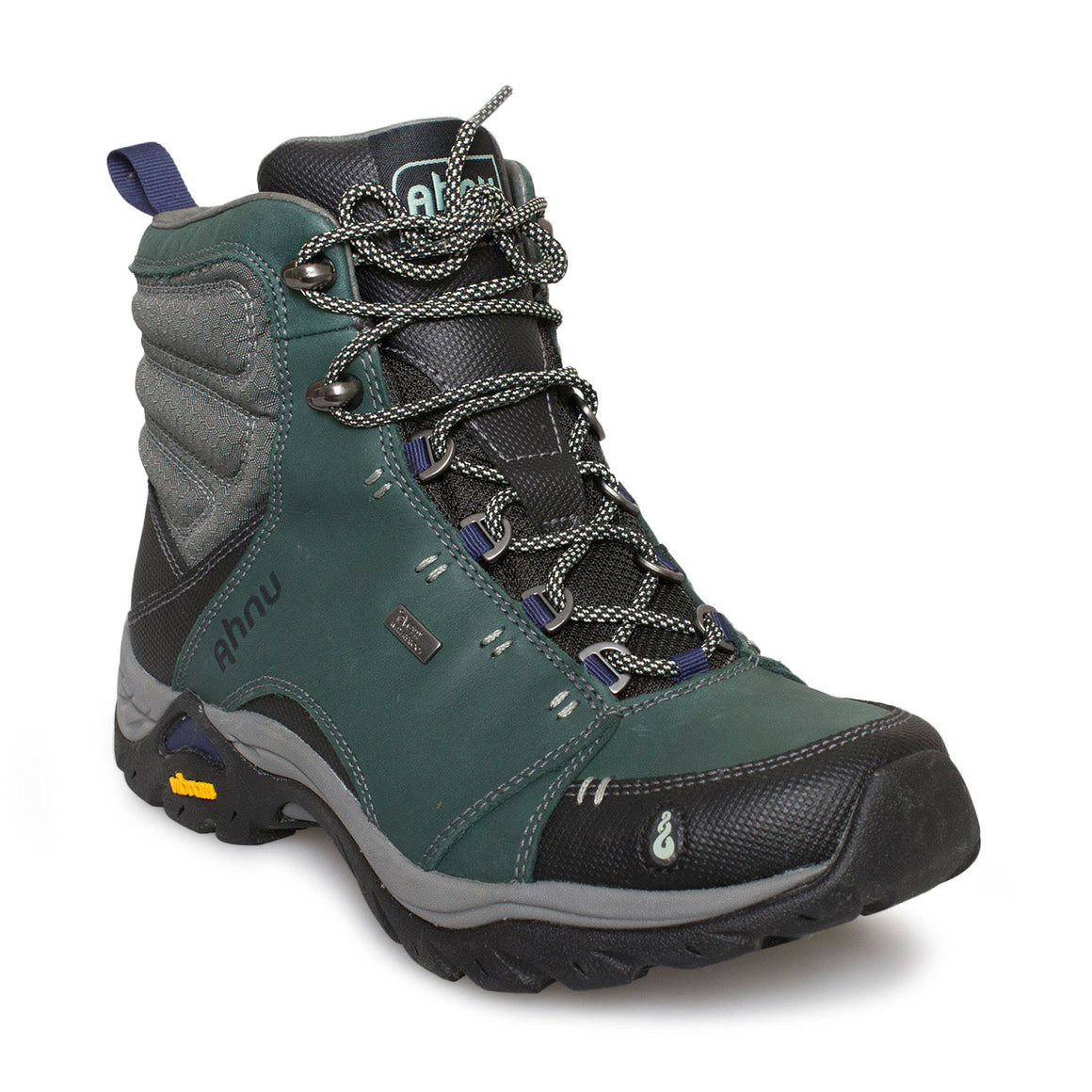 Ahnu Montara Muir Green Hiking Boots