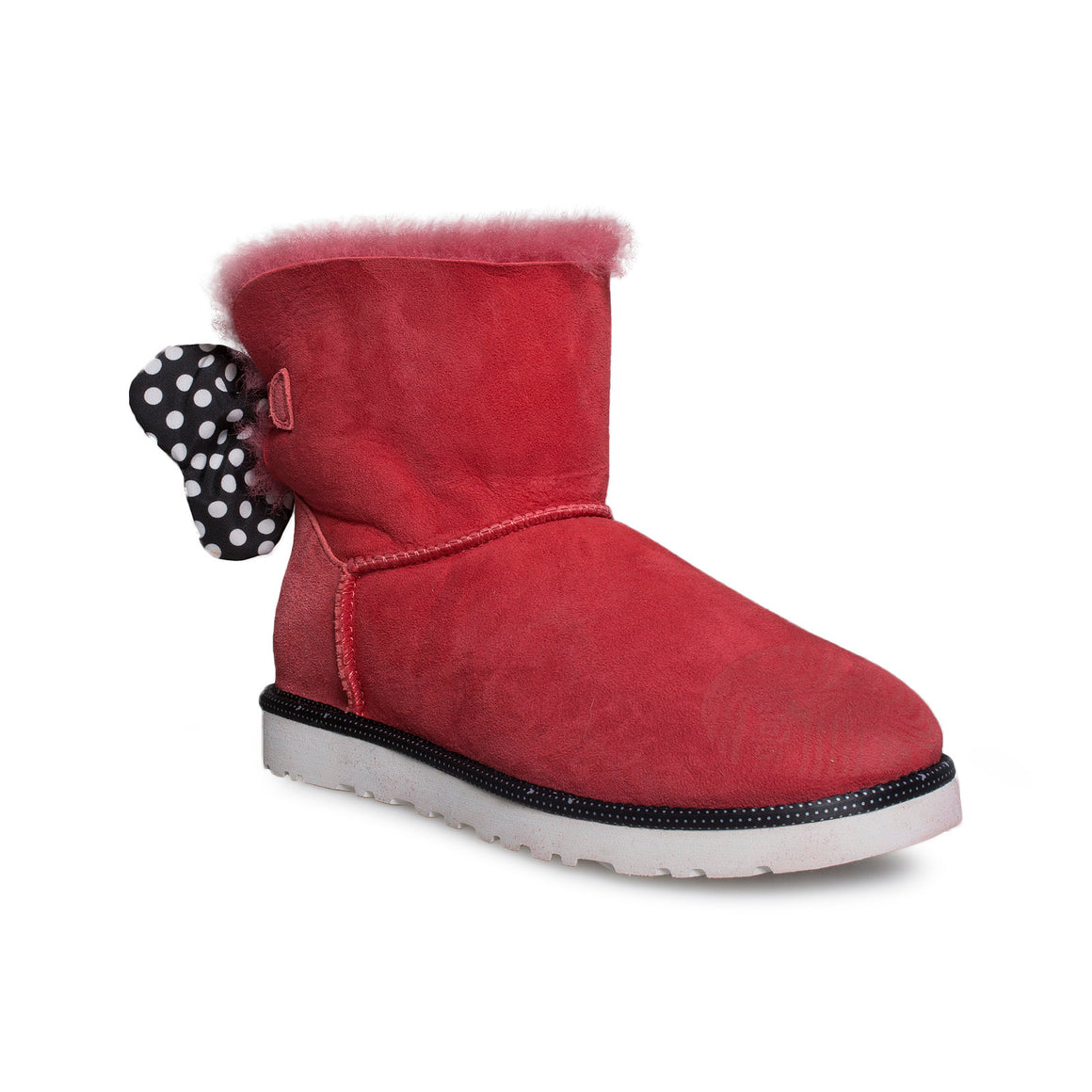UGG Sweetie Bow Red Boots - Women's
