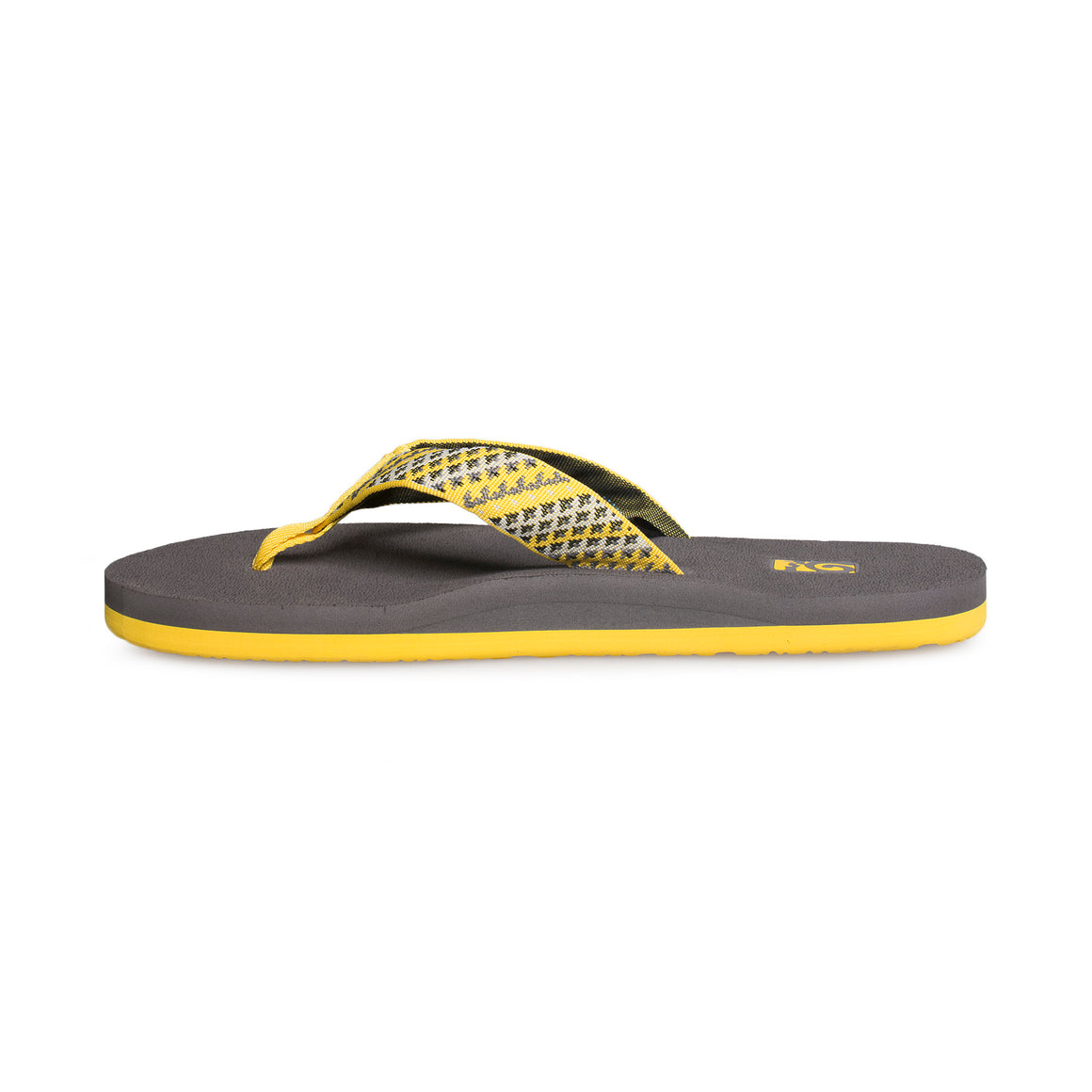 Teva Mush II Fleet Yellow Flip Flops - Men's