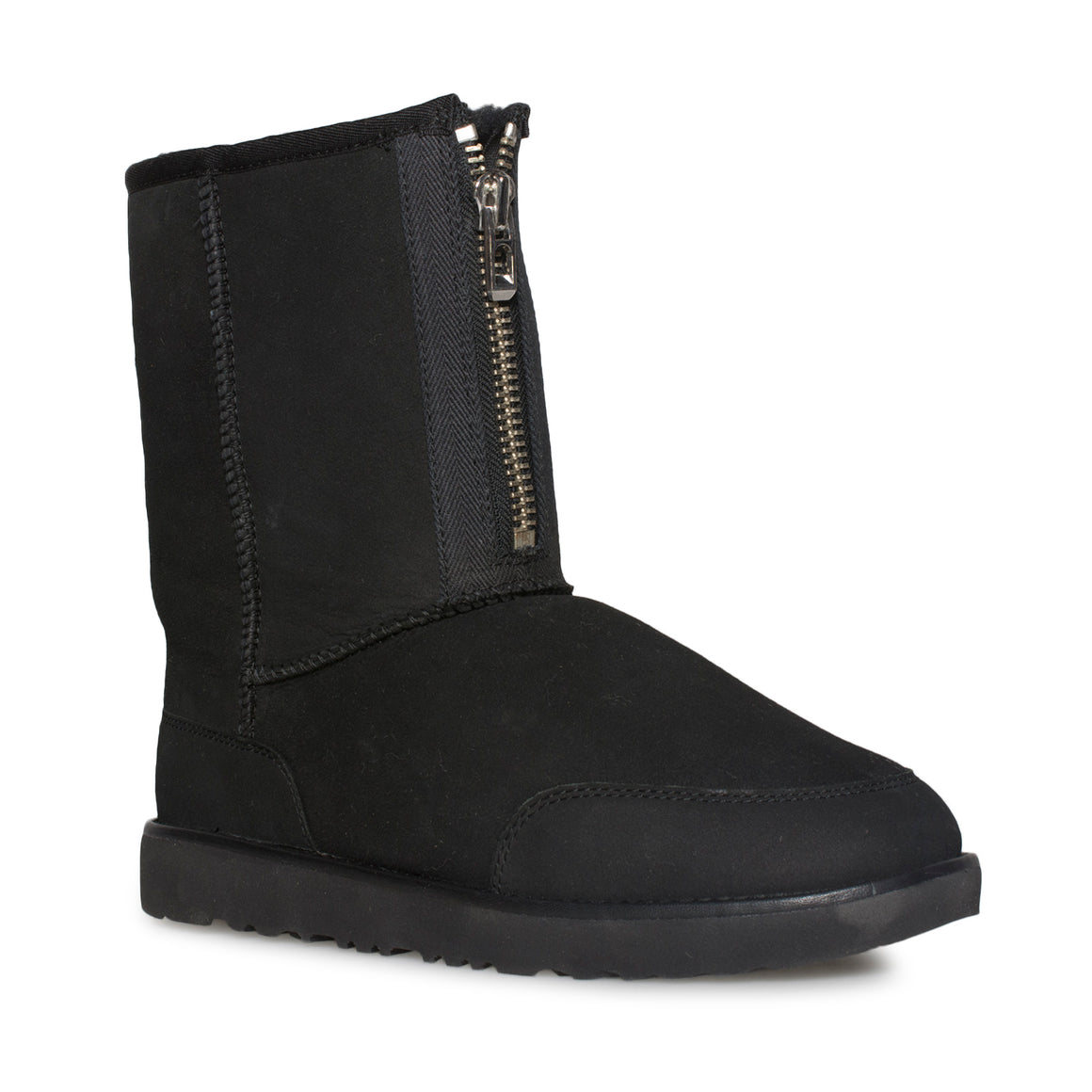 UGG Classic Short Zip Philip Lim Black Boots - Men's
