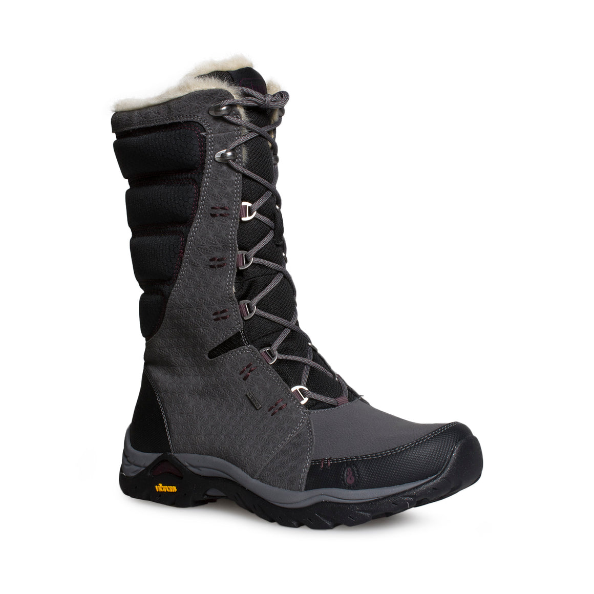 AHNU Northridge Star Suede Insulated WP Granite Boots - Women's