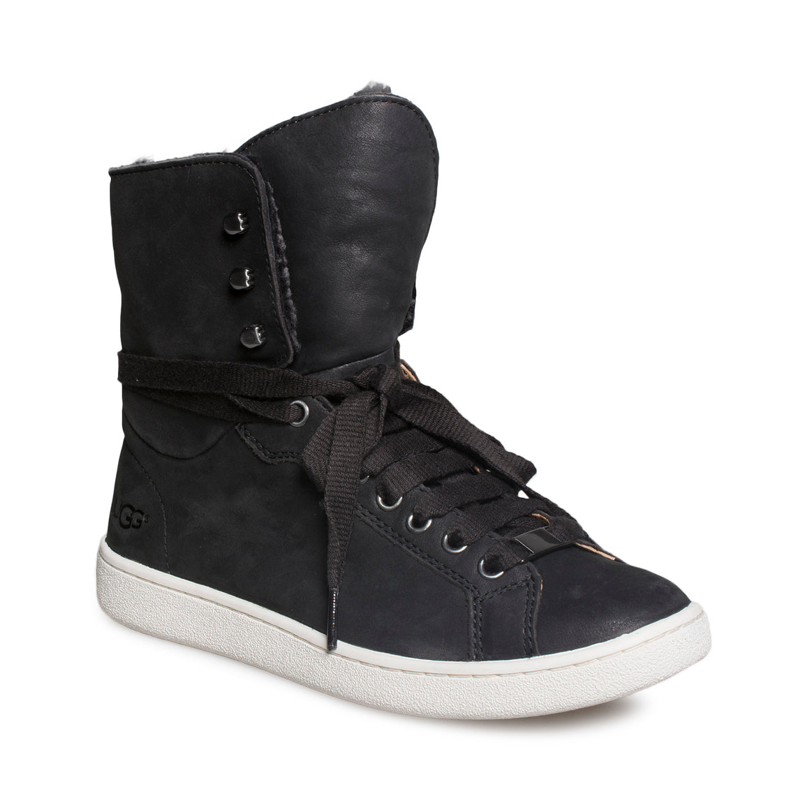 UGG Starlyn Black Sneakers - Women's