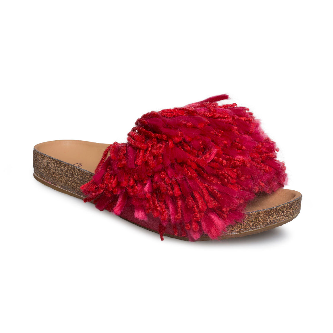UGG Cindi Ribbon Red Flip Flops - Women's