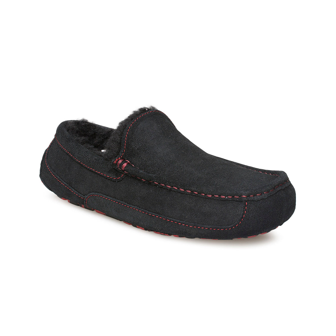 UGG Ascot Black Marble Slippers - Men's