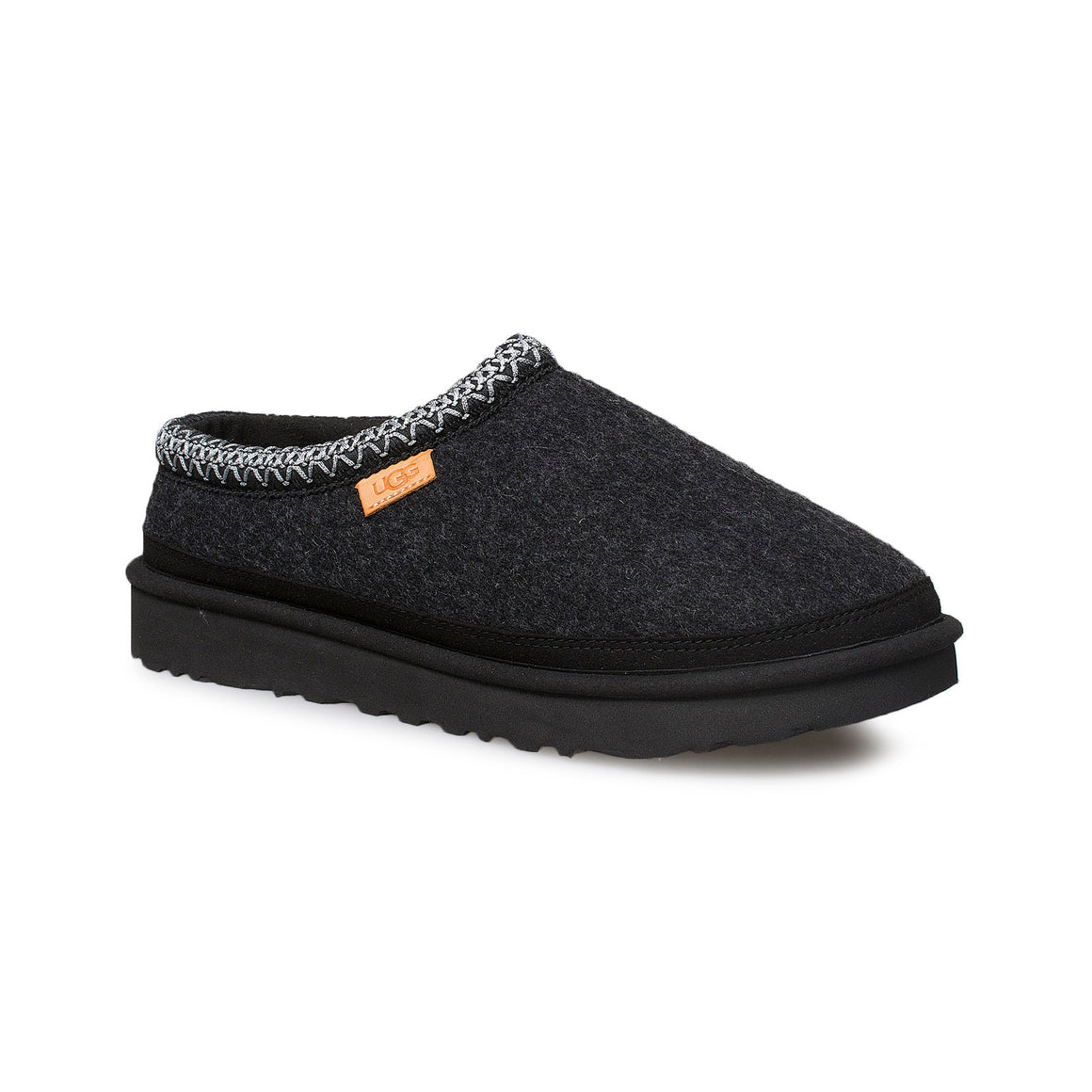 UGG Tasman Wool Black TNL Slippers - Men's