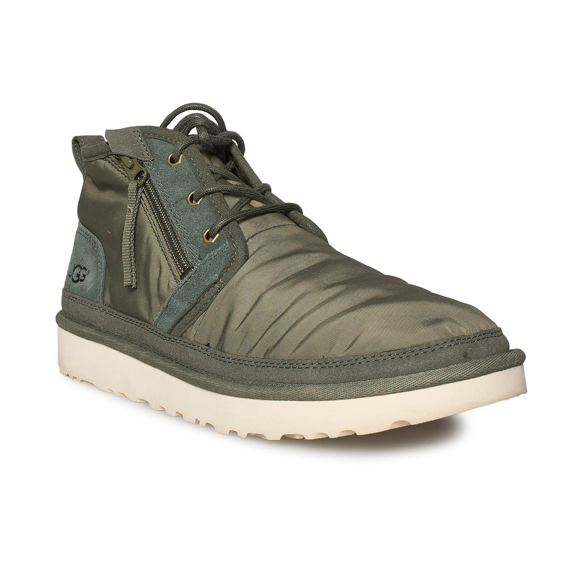 UGG Neumel Zip Military Green Boots - Men's