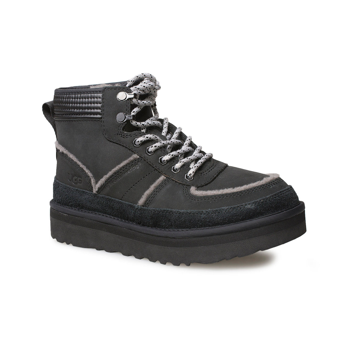 UGG + White Mountaineering Highland Sport Black Boots - Men's