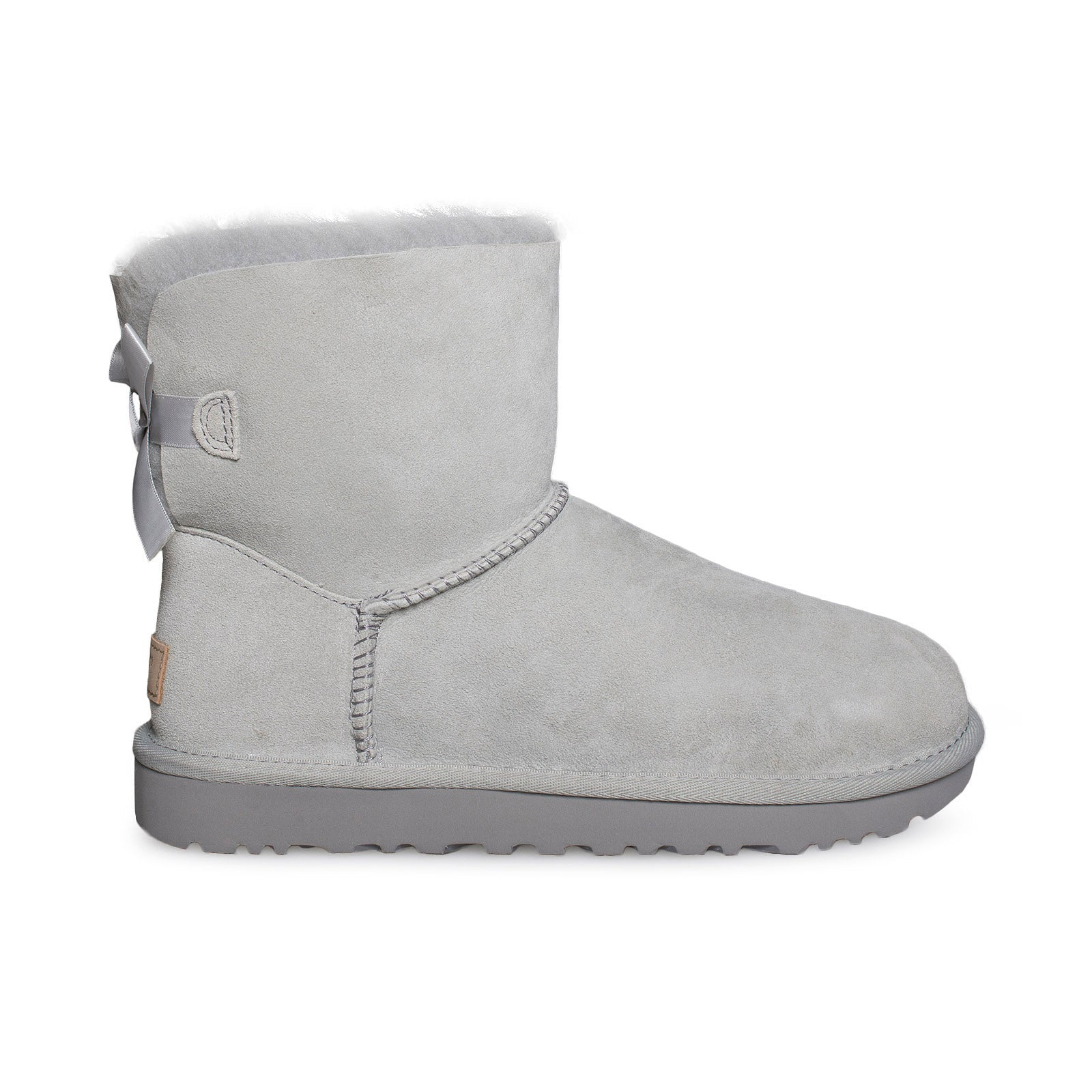 e9da6237ae8 UGG Mini Bailey Bow II Grey Violet Boots - Women's