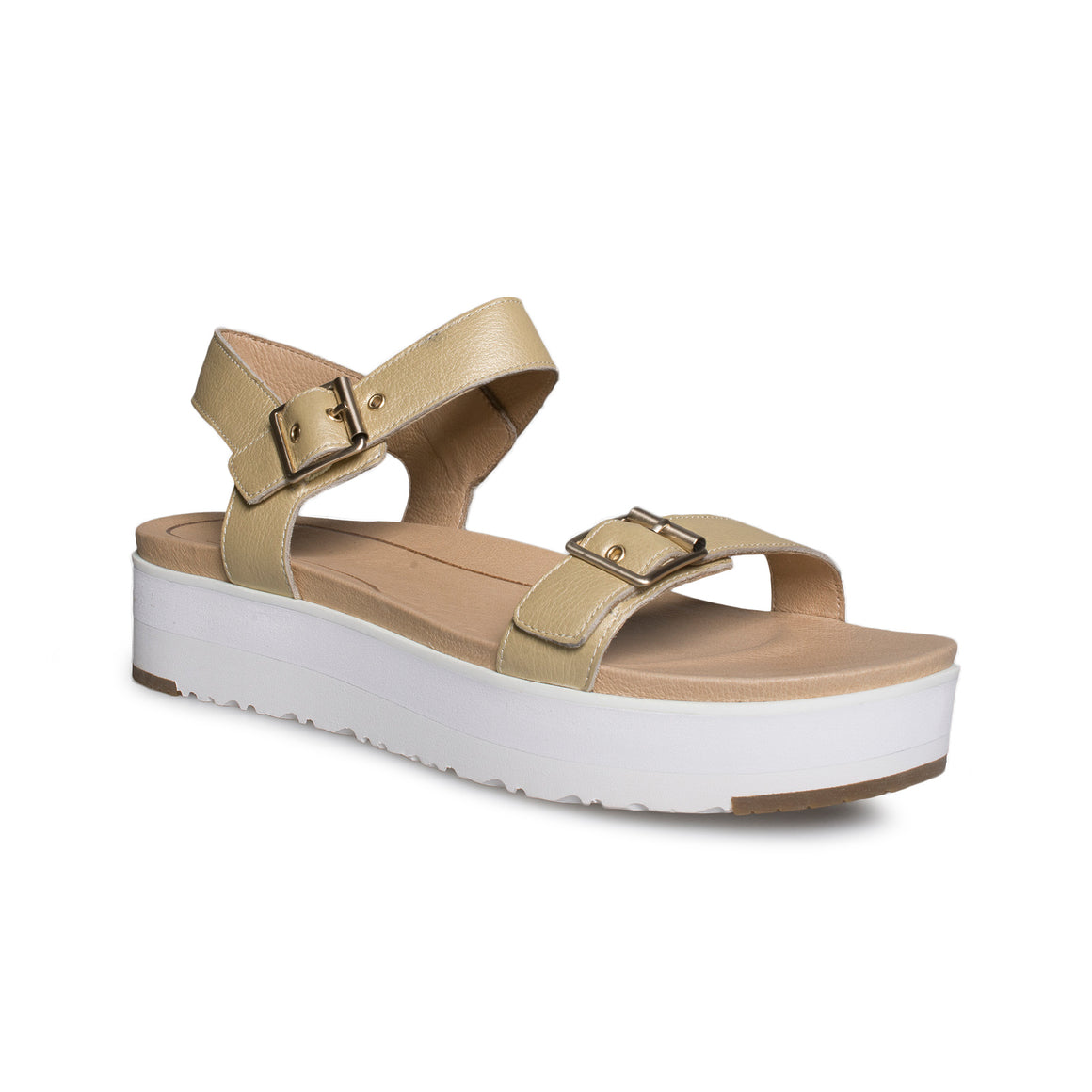 UGG Angie Metallic Gold Sandals - Women's