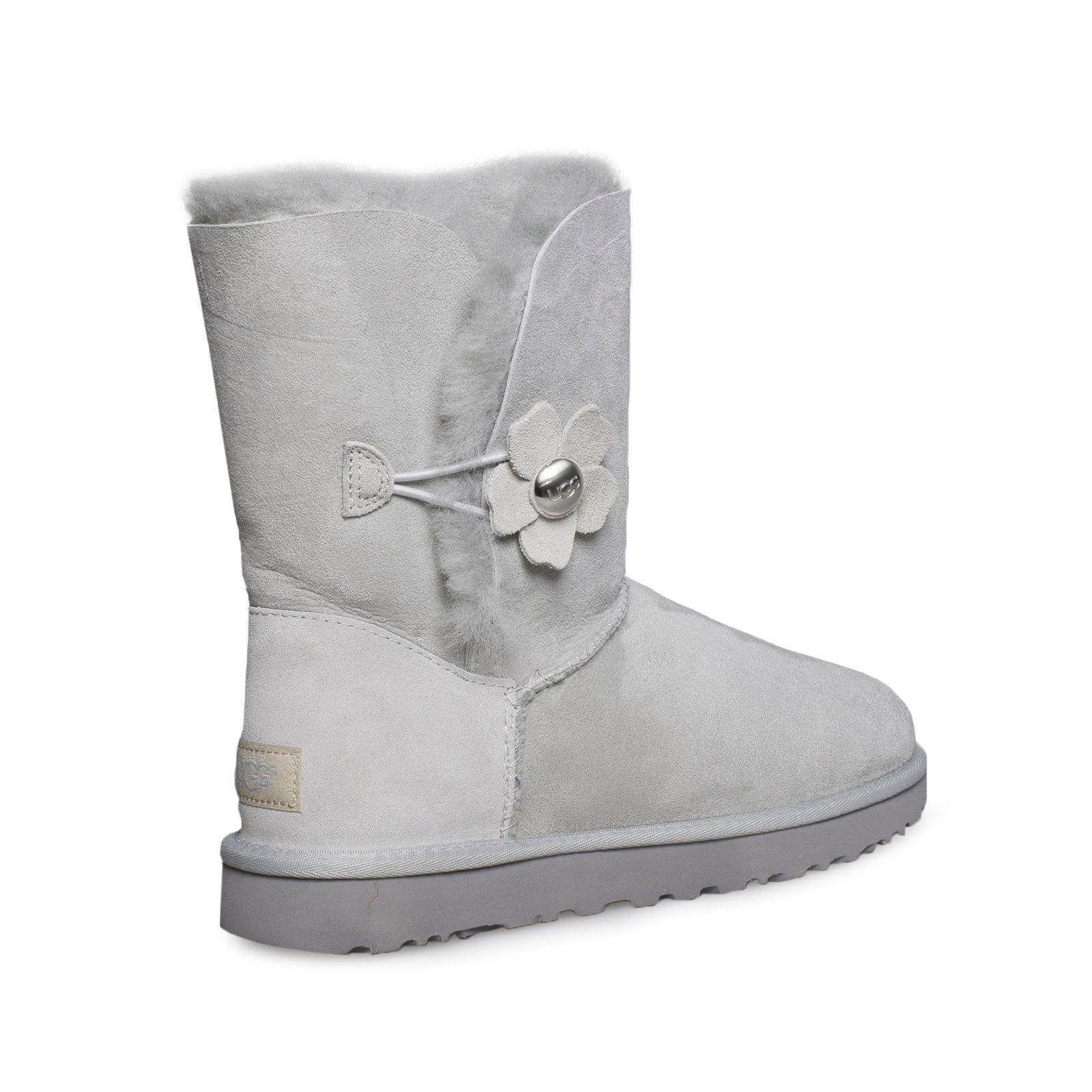 e087874f215 UGG Bailey Button Poppy Grey Violet Boots - Women's