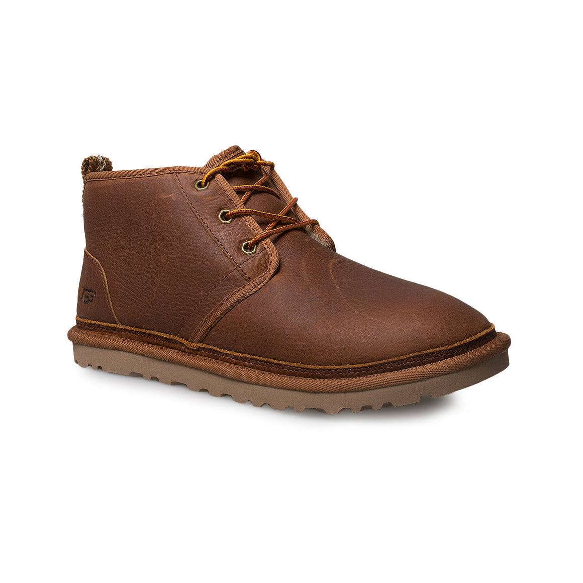 UGG Neumel Leather Chestnut Boots - Men's