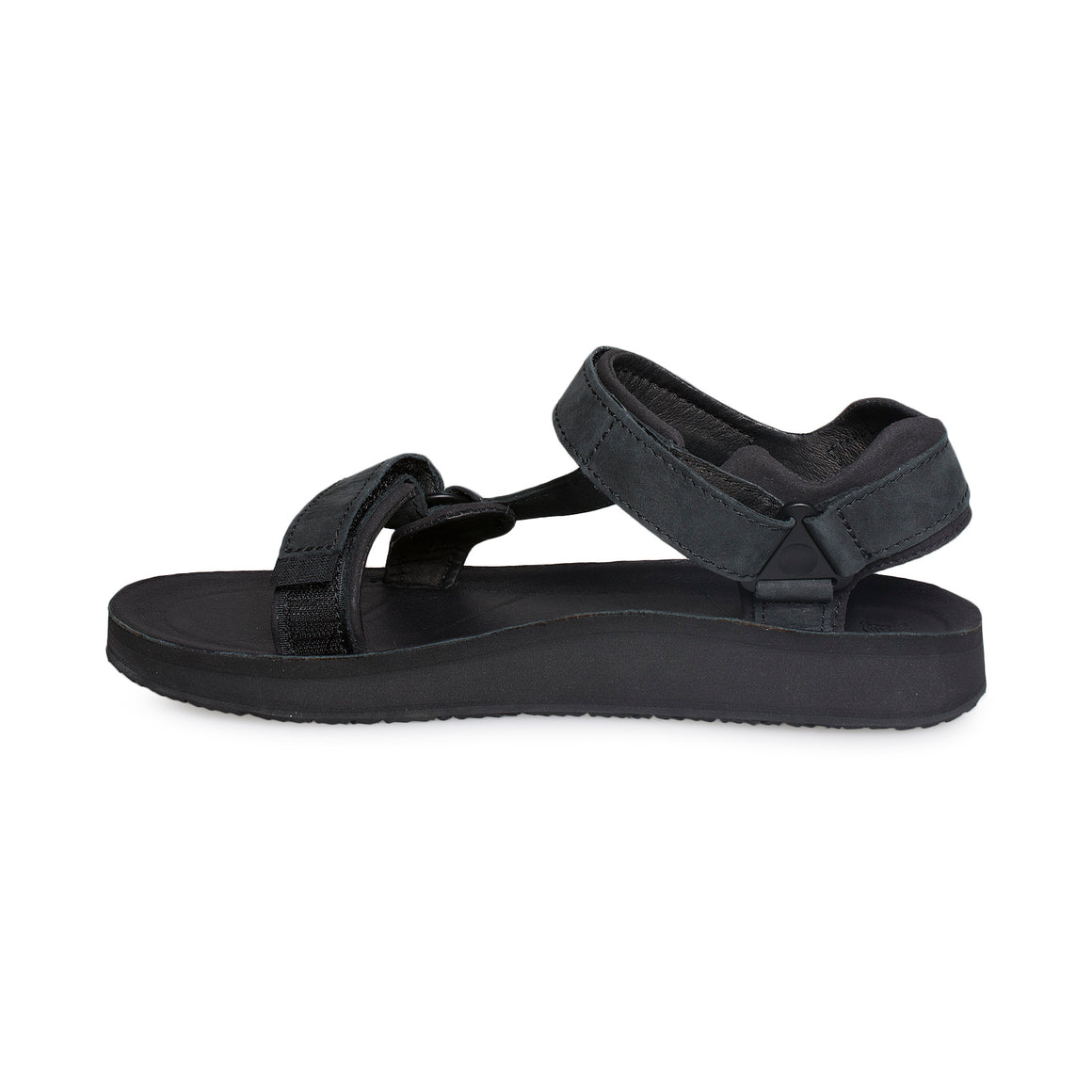 Teva Original Universal Premier Leather Midnight Black Sandals - Women's