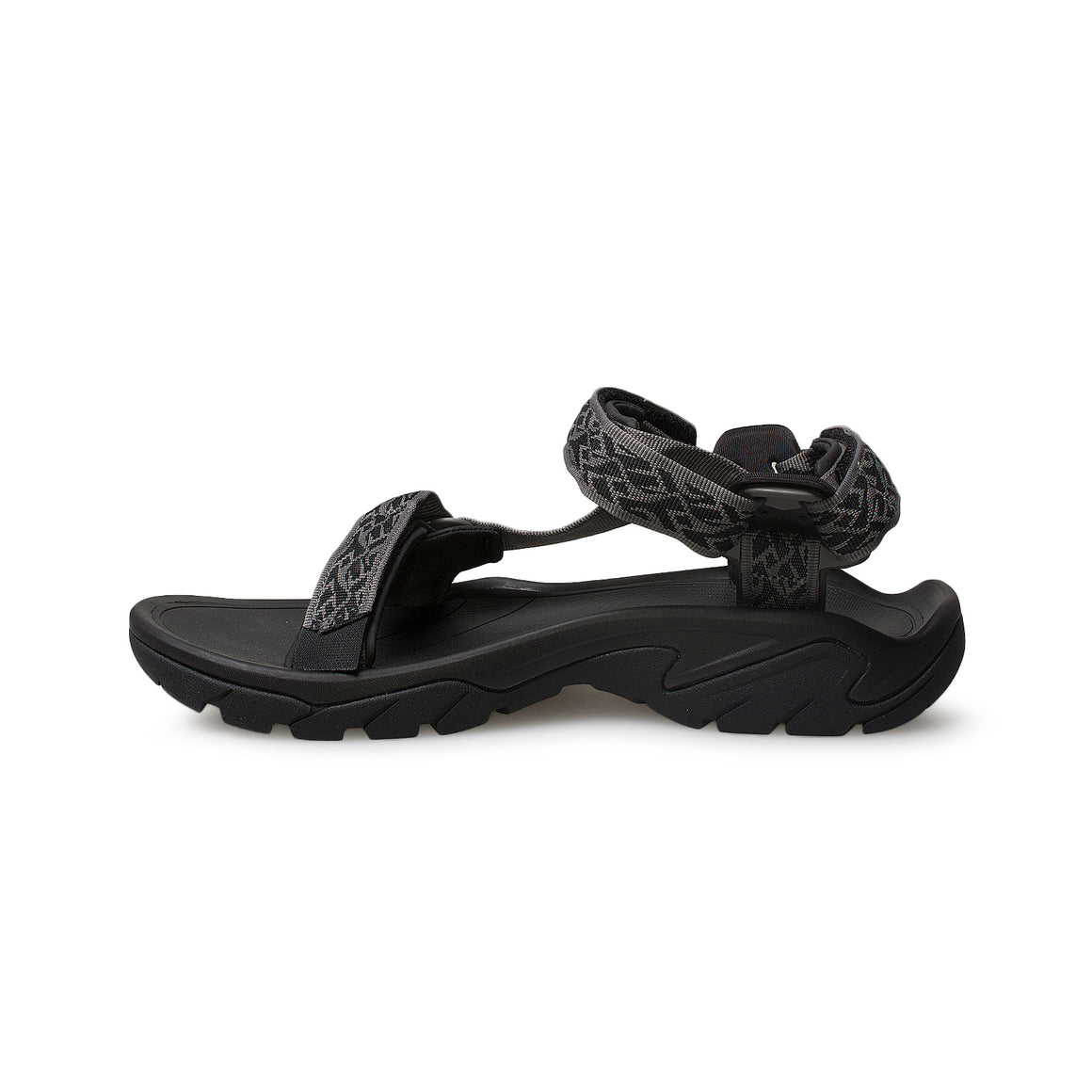 Teva Terra FI 5 Universal Wavy Trail Black Sandals - Men's