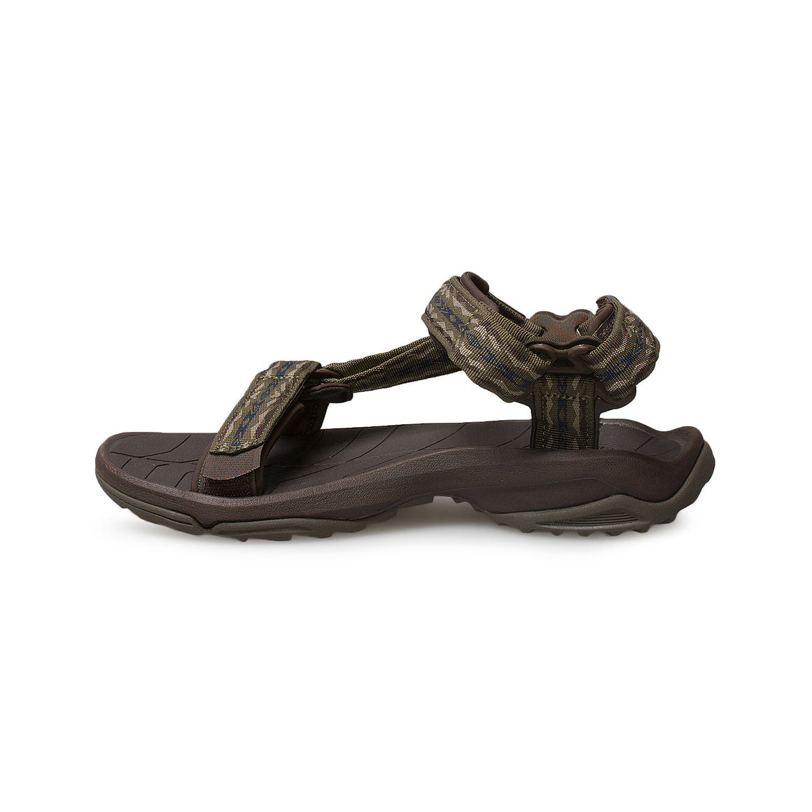 Teva Fi Lite Rambler Dark Olive Sandals - Men's