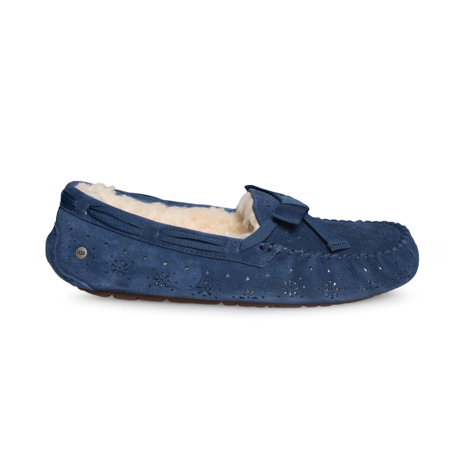 e094cb1dfca UGG Dakota Sunshine Perf Navy Slippers - Women's